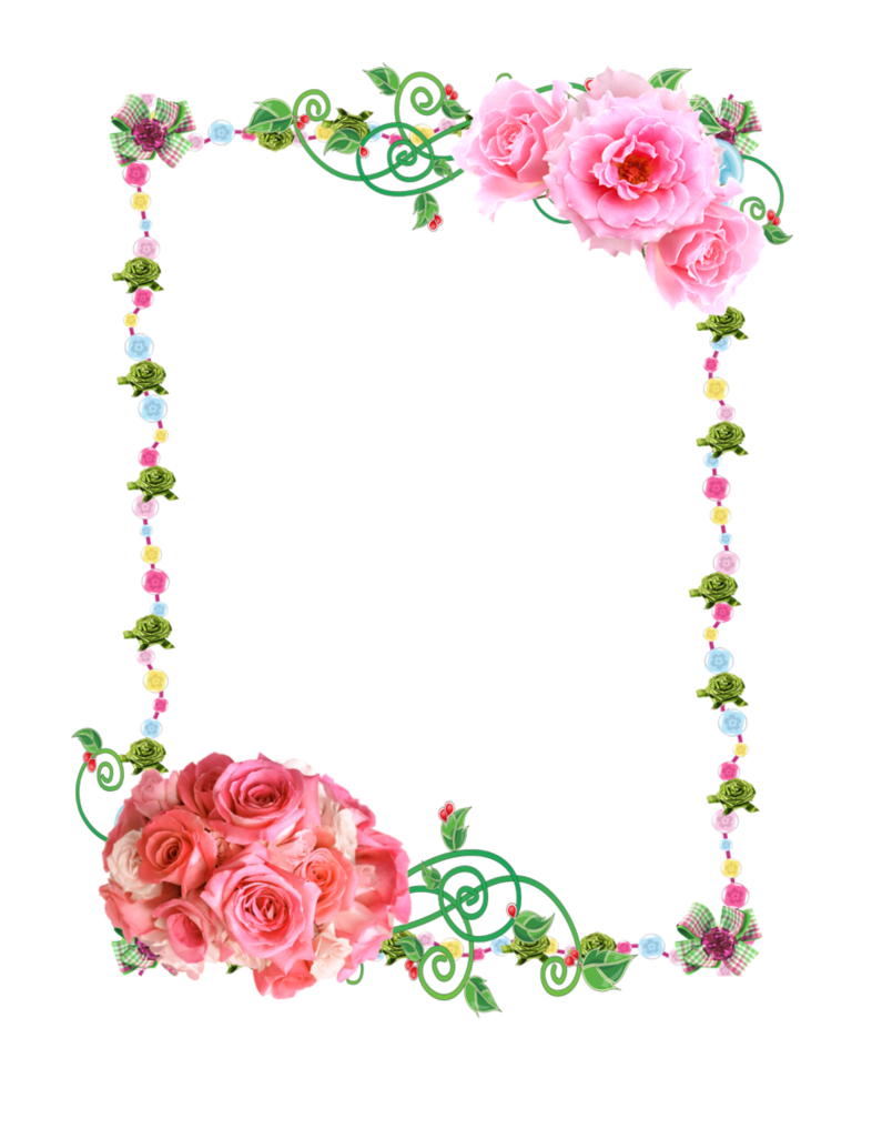 Frame Png With Roses By Melissa Tm On Deviantart - Clipart Kid