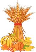 Harvest Festival Clipart Vector Graphics  431 Harvest Festival Eps