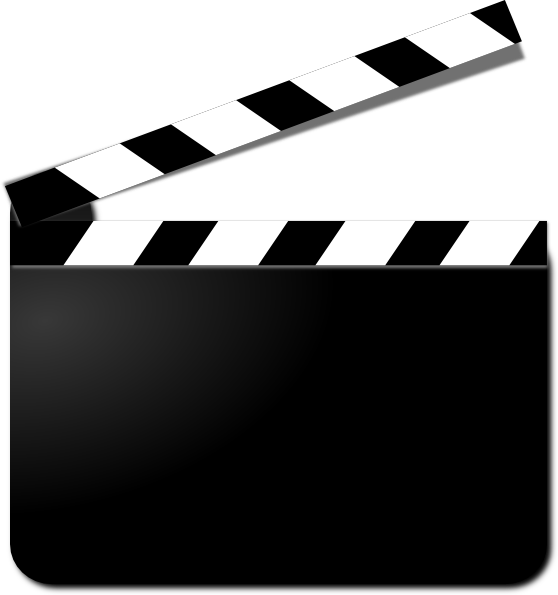 Movie Clapper Clip Art At Clker Com   Vector Clip Art Online Royalty