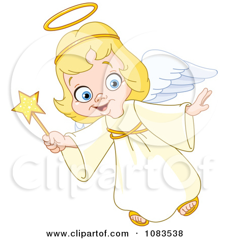 Royalty Free  Rf  Christmas Angel Clipart   Illustrations  1