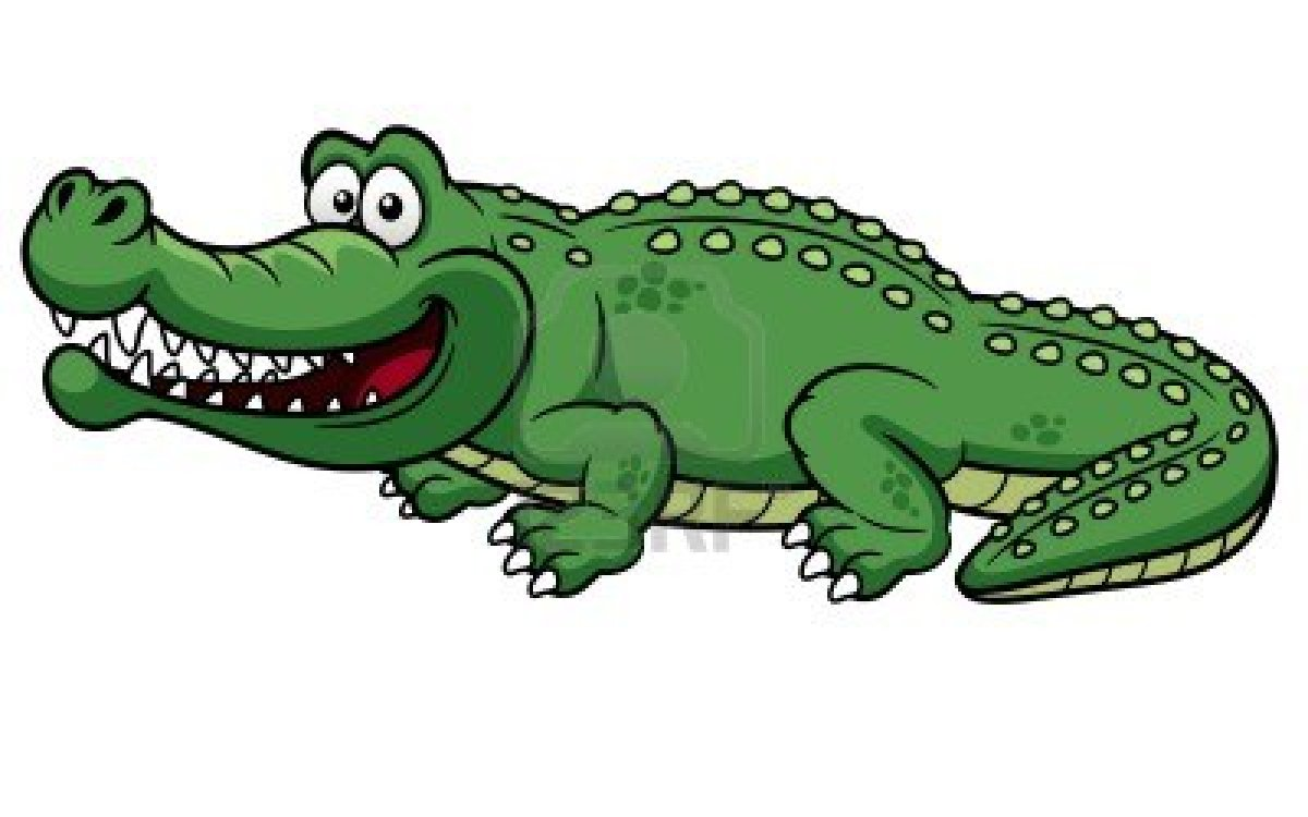 17813657 Illustration Of Cartoon Crocodile Vector