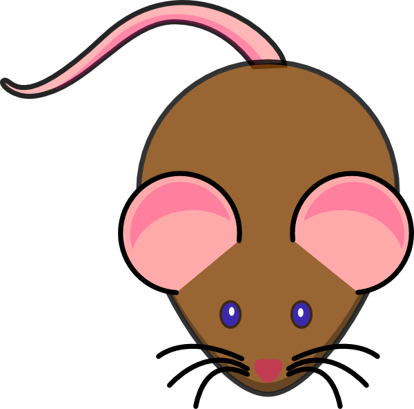 Brown Mouse Clip Art At Clker Com   Vector Clip Art Online Royalty