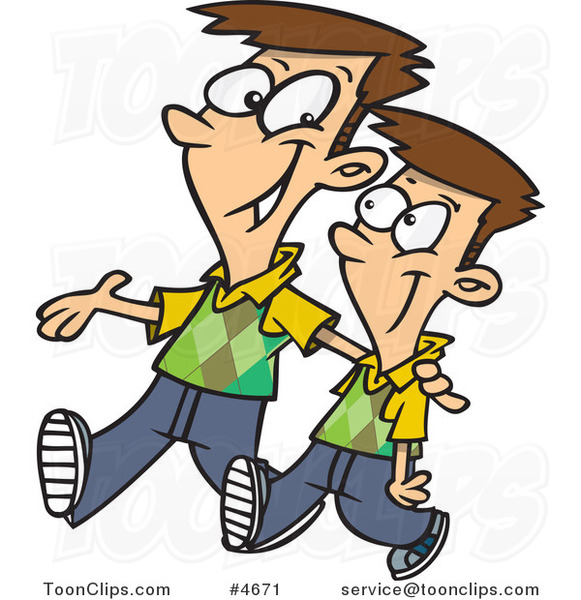 Cartoon Brother Clipart - Clipart Kid