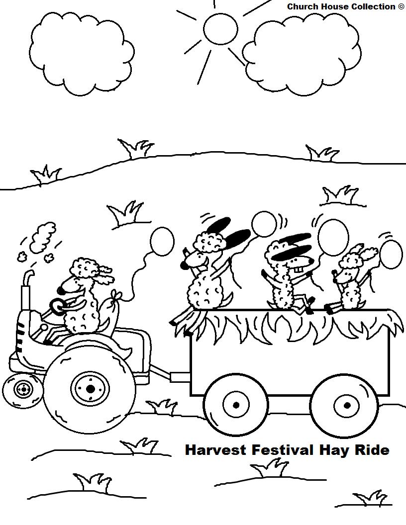 Harvest Sunday Christian Clipart