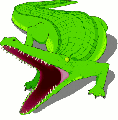Clipart   Wallpaper  Animals Clipart   Crocodile