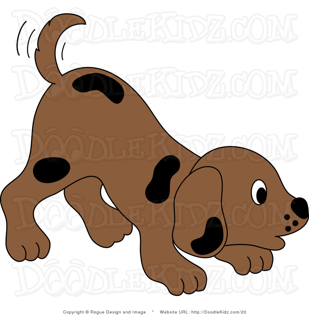 Cute Dog Face Clipart Clip Art Illustration Of A Cute Little Brown
