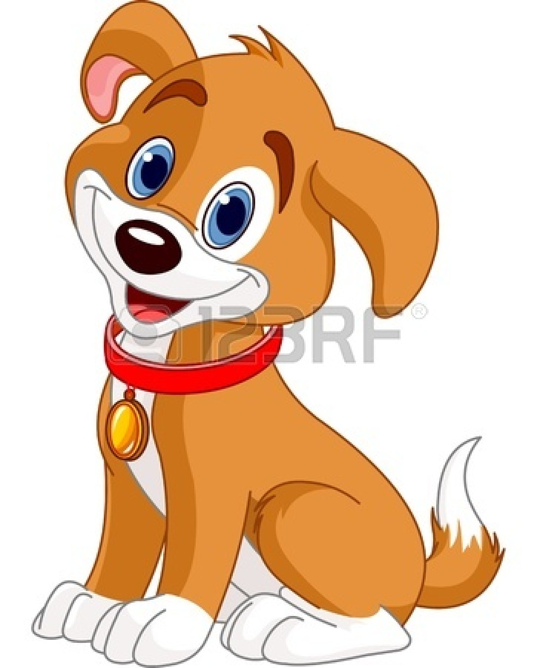 Cute Puppy Dog Clipart