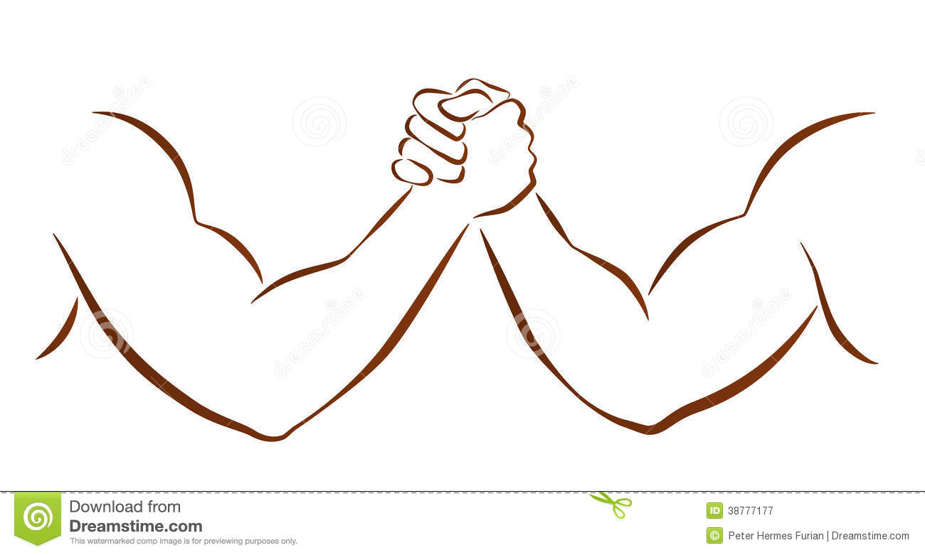 arm wrestling clipart clipart suggest
