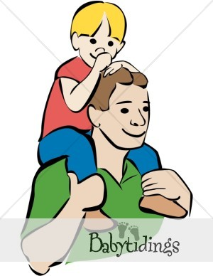 Father And Baby Clipart   Clipart Panda   Free Clipart Images