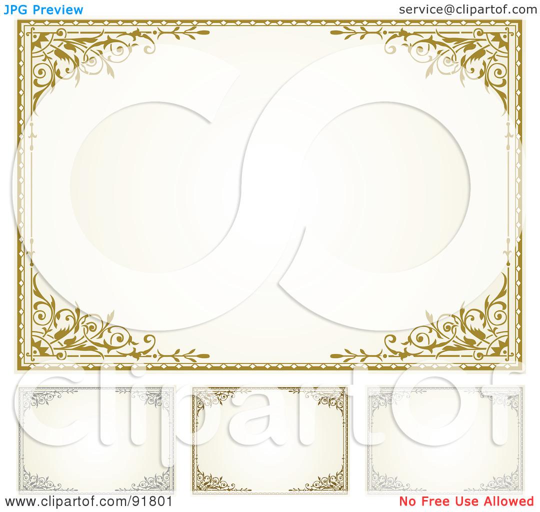 Gift Certificate Border Clipart - Clipart Kid