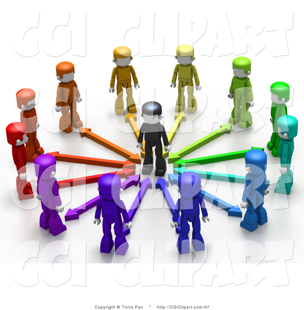 Group People Clip Art Pic  22