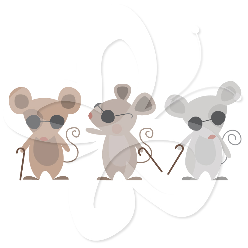 Home   All Clip Art   Three Blind Mice