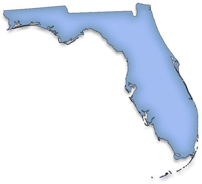 Clip Art Of State Fl : Florida map clipart suggest