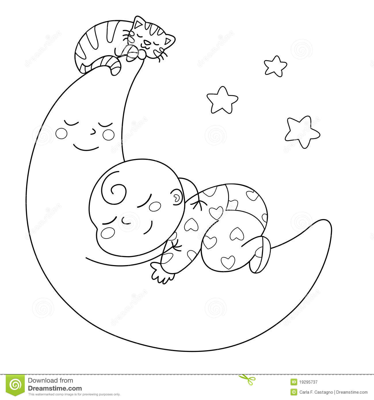 free clip art baby sleeping - photo #31
