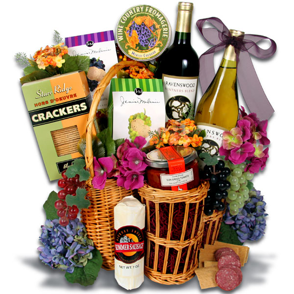 Wine Gift Baskets 060911  Vector Clip Art   Free Clipart Images