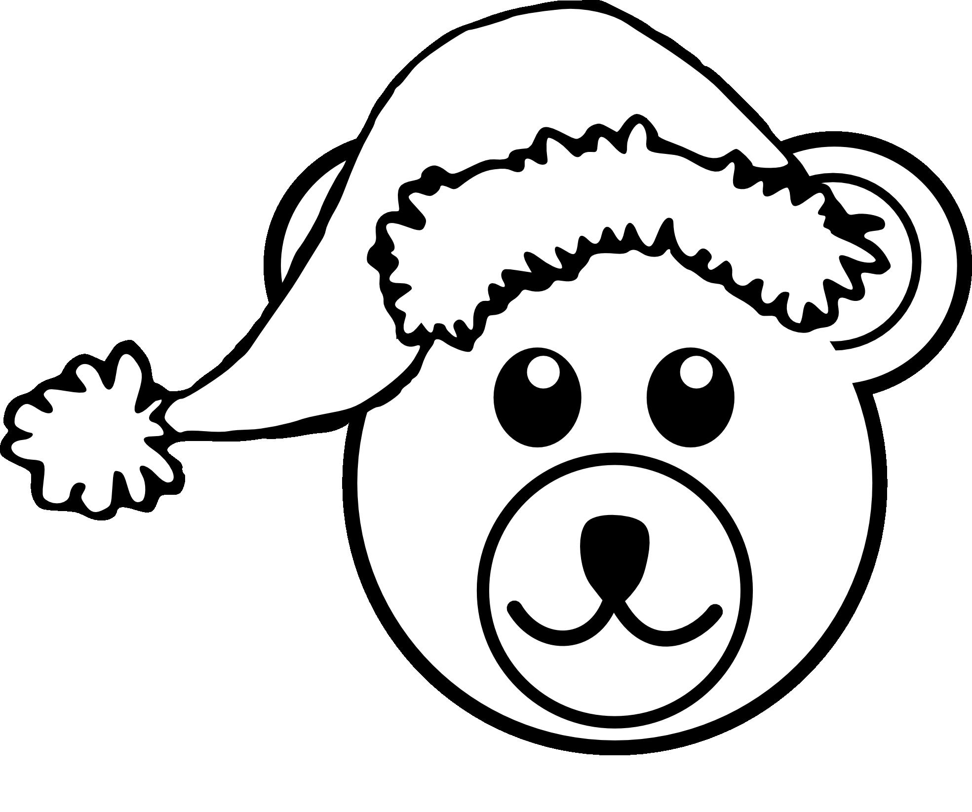 white teddy bear clip art - photo #16