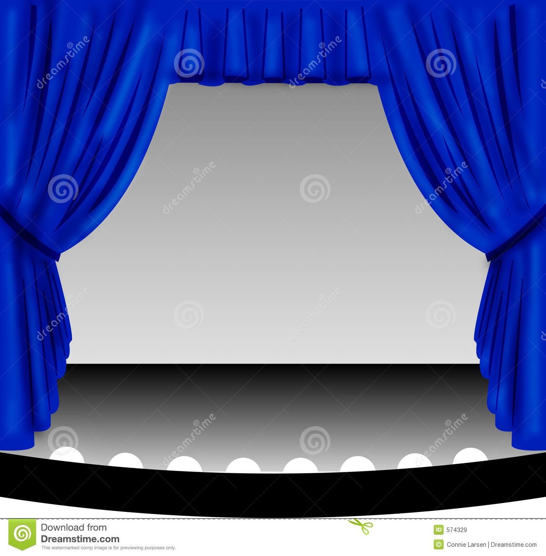 Clip Art Blue Curtains Clipart - Clipart Suggest