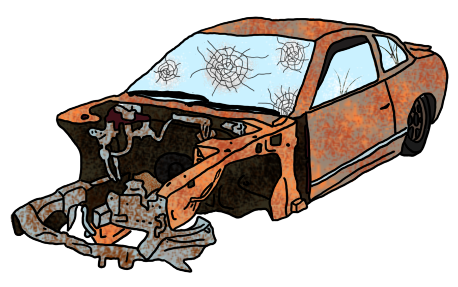 Crashed Derby Car Clipart - Clipart Kid