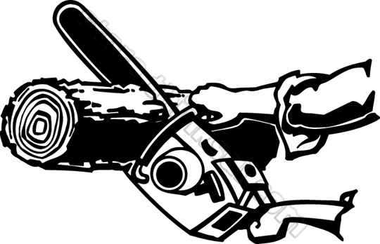 Chain Saw Clip Art