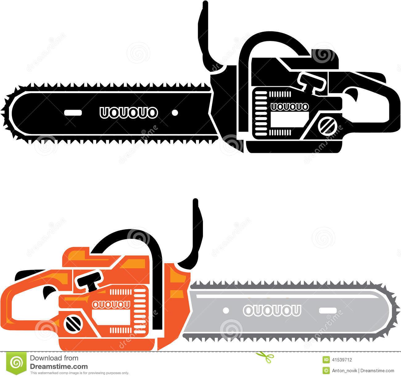 Chainsaw Blade Clip Art