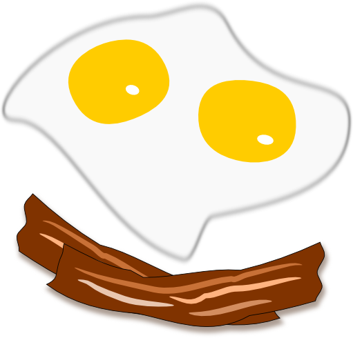 Bacon And Eggs Clipart - Clipart Suggest