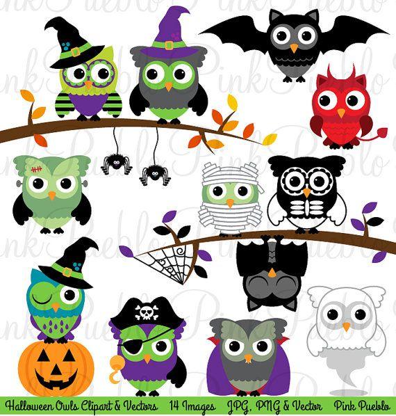 ... clip-art-cute-happy-halloween-owl-bird-clipart ... Owl Happy Birthday