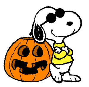 Here S A Collection Of Snoopy Pictures For Halloween
