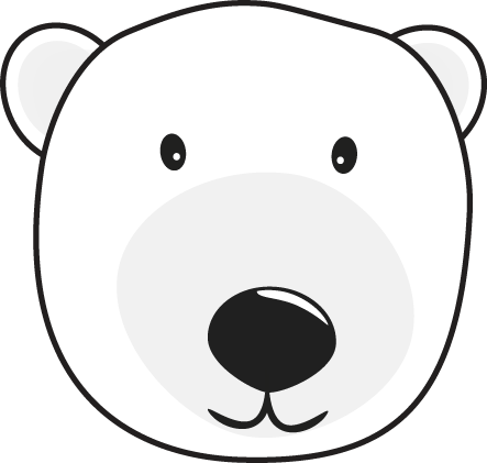 Polar Bear Head   White Polar Bear Head  This Is A Transparent Png