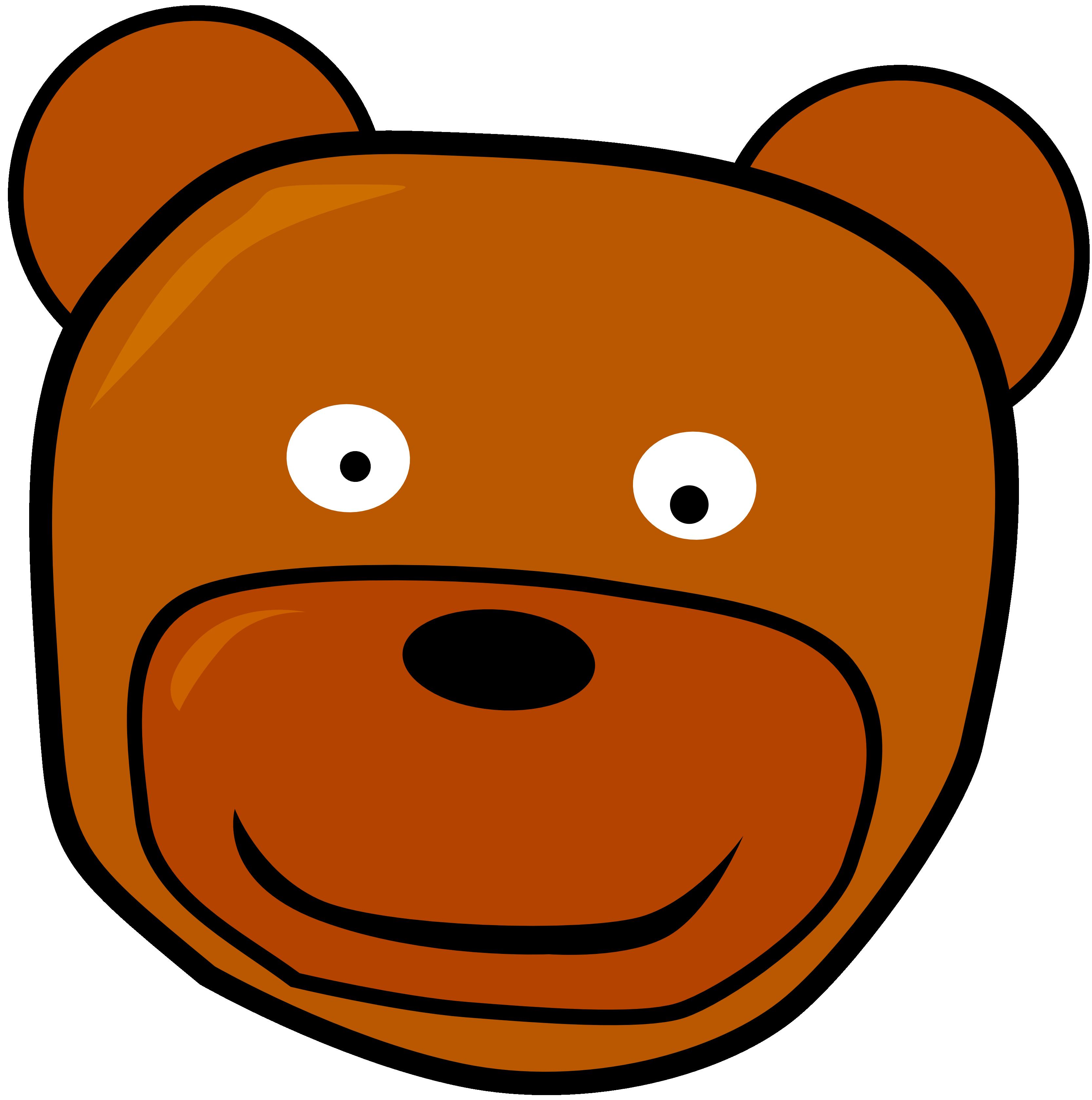 Teddy Bear Face Clipart - Clipart Kid
