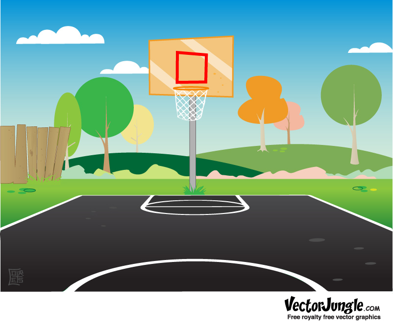 The Latest Clip Art Basketball Court Video From 2leep