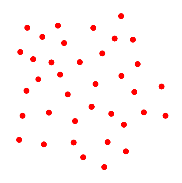 White Flower With Red Polka Dots Clip Art   Vector Clip Art Online