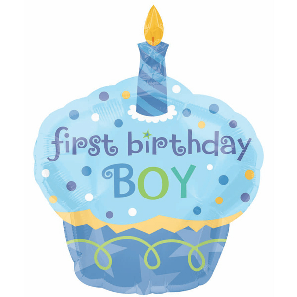 1st Birthday Boy Clipart - Clipart Suggest
