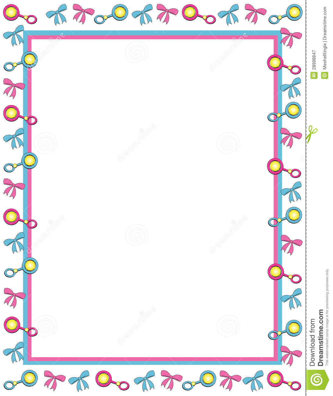 free baby borders clip art frames and borders for babies cartoon frame