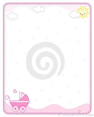 Baby Border Clipart - Clipart Kid