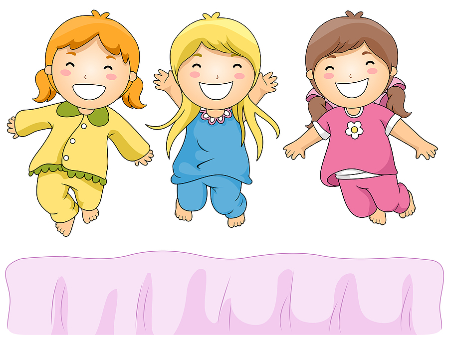 Sleep Over Cartoon Clipart - Clipart Kid