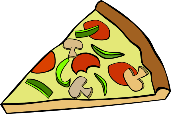 Pepperoni Pizza Slice Clip Art At Clker Com   Vector Clip Art Online