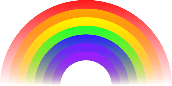Rainbow Clip Art At Clker Com   Vector Clip Art Online Royalty Free