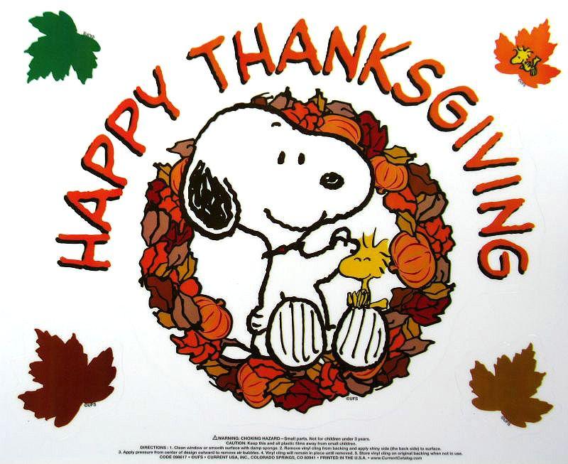snoopy happy thanksgiving 4k - photo #24