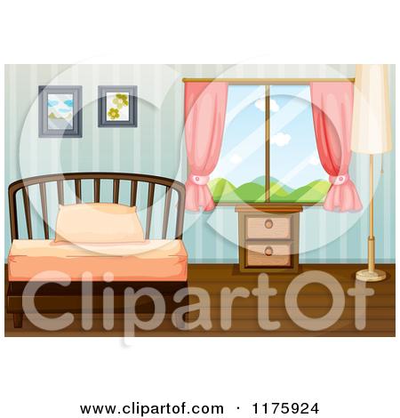bedroom wallpaper clipart clipart kid