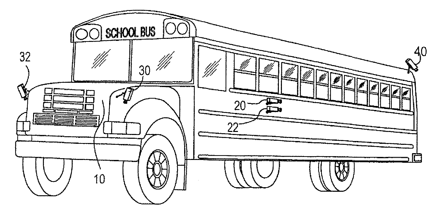 School Bus Clip Art Black And White   Clipart Best