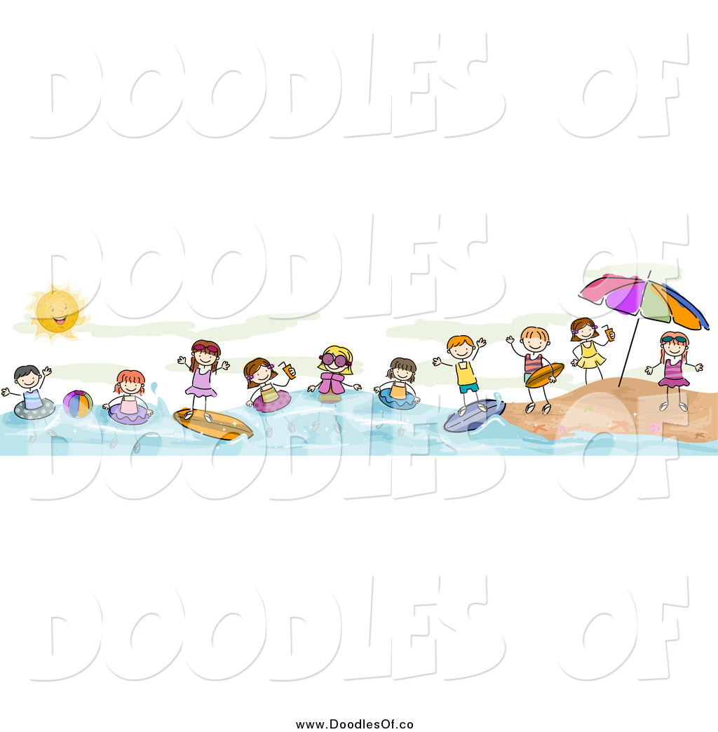 Summer Clip Art Borders summer beach border clipart - clipart kid