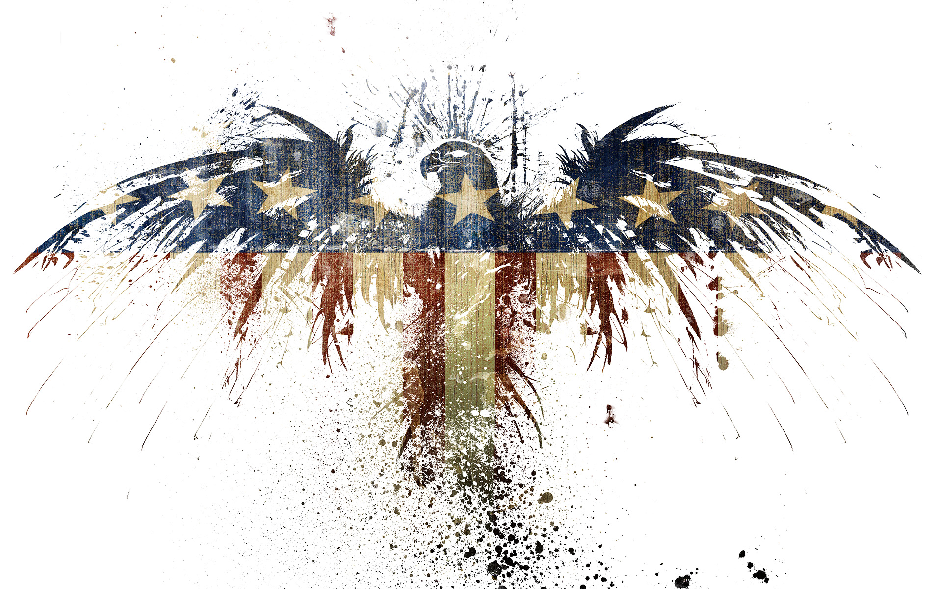 American Flag Eagle Graphic Art   Drawings Paintings Art   Pinterest