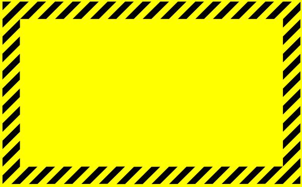 Clip Art Caution Sign Clip Art blank warning sign clipart kid caution clip art at clker com vector online