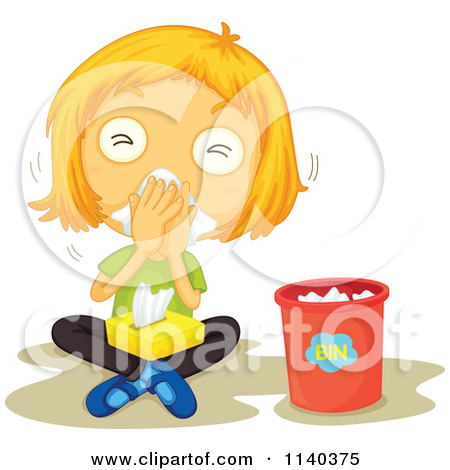 Sick Face With Red Nose Clipart - Clipart Kid