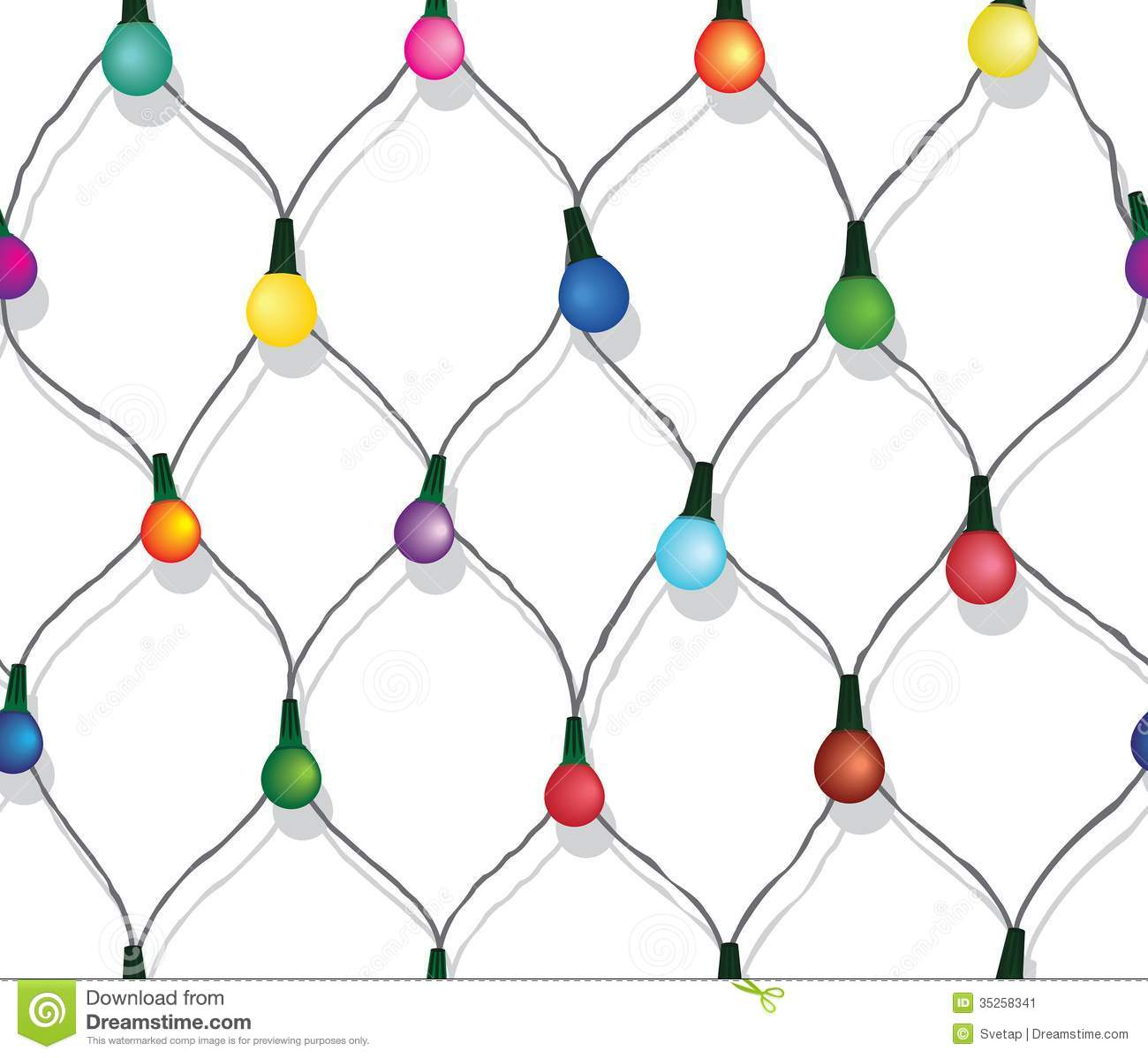 Best String Christmas Lights : String Of Christmas Lights Black And White Clipart - Clipart Suggest