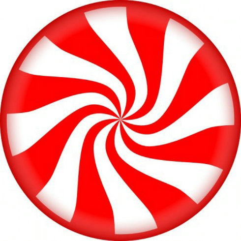 Free Peppermint Candy Clip Art