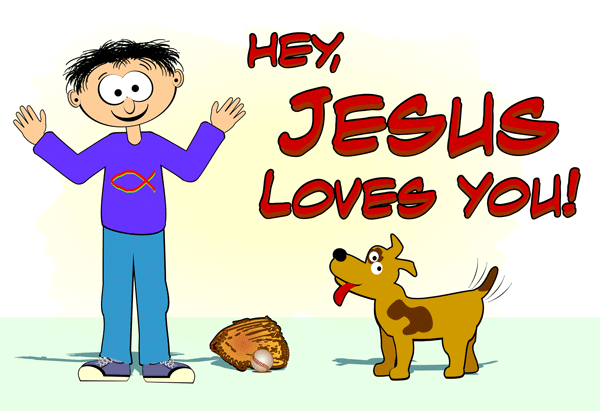 Jesus Loves You Clipart - Clipart Kid