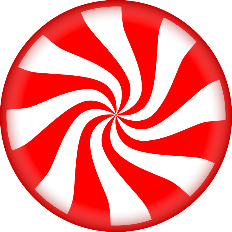 Peppermint Candy By Bluefrog23   Circular Peppermint Candy