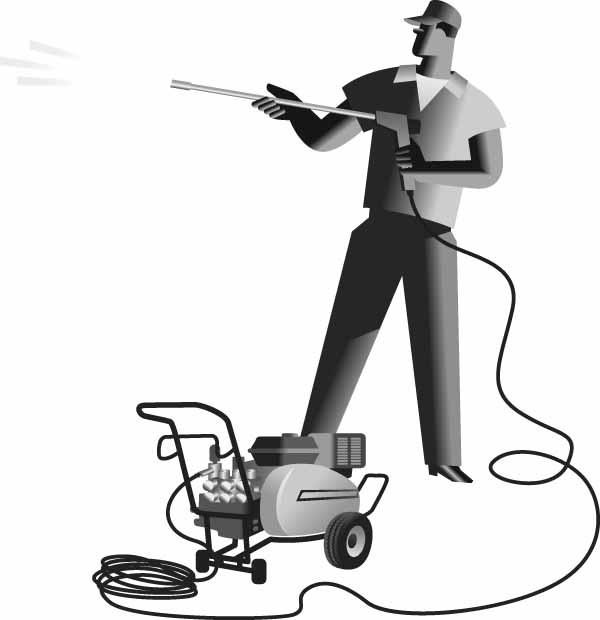 Pressure Washing Clip Art Man Pressure Washing Clip Art