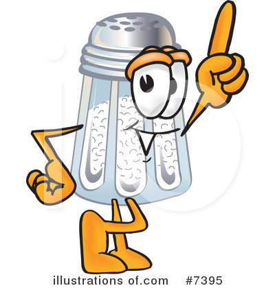 Royalty Free  Rf  Salt Shaker Clipart Illustration  7395 By Toons4biz